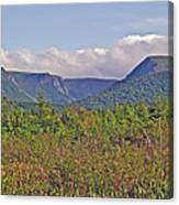 Long Range Mountains In Western Nl Canvas Print
