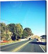 Long Road Canvas Print