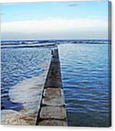 Long View To The Ocean Canvas Print