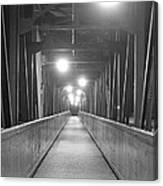 Long Walking Bridge Canvas Print