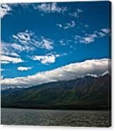 Long White Cloud Canvas Print