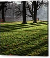 Long Winter Shadows Canvas Print