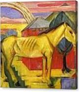 Long Yellow Horse 1913 Canvas Print