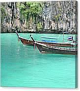 Longboat  Canvas Print