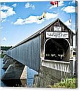 Longest Covered Bridge Canvas Print