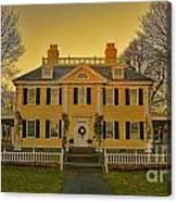 Longfellow House-cambridge Boston Canvas Print