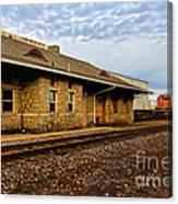 Longmont Depot Canvas Print