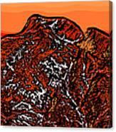 Longs Peak - Colorado Canvas Print