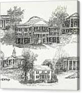 Longwood College Canvas Print