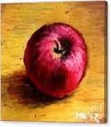 Look An Apple Canvas Print