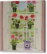 Look Through My Window Again Canvas Print