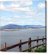 Looking At Black Combe Canvas Print
