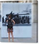 Looking Back In Time - Lisbon Canvas Print