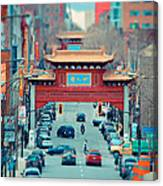 Looking For Chinatown Canvas Print