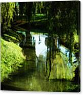 Looking Green And Serene Canvas Print