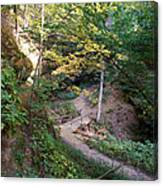 Looking Into Devil's Punch Bowl Wildcat Den Canvas Print