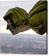 Looking Over Ulm Canvas Print