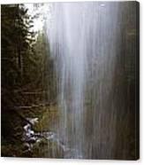 Looking Through Angel Falls Canvas Print