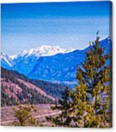 Looking To Mazama From Sun Mountain Canvas Print
