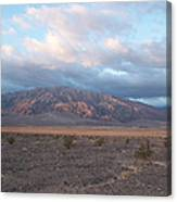 Looking Towards Cotton Wood Canyon Canvas Print