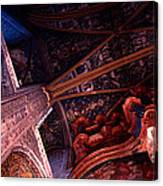 Looking Up Albi Cathedral Canvas Print