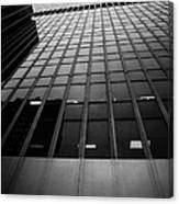 Looking Up At 1 Penn Plaza On 34th Street New York City Usa Canvas Print