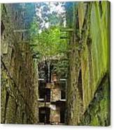 Looking Up Bodmin Jail Canvas Print