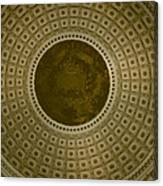 Looking Up Capitol Dome Canvas Print