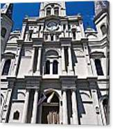 Looking Up St Louis Cathedral Canvas Print