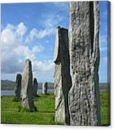 Looking West At Callanish Canvas Print