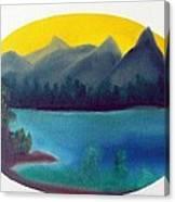 Loon Lake Canvas Print