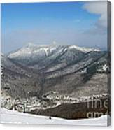 Loon Mountain Ski Resort White Mountains Lincoln Nh Canvas Print