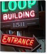 Loop Building 1511 Canvas Print
