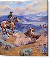 Loops And Swift Horses - Surer Than Lead Canvas Print