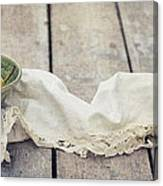 Loosely Draped Canvas Print