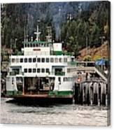Lopez Island Ferry Canvas Print