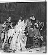 Lord Darnley/mary Stuart Canvas Print