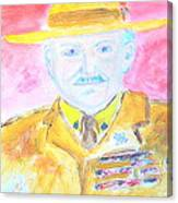 Lord Robert Baden Powell And Scouting 2 Canvas Print