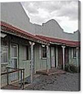 Lordsburg Nm Hotel 1 Canvas Print