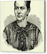 Loreta Janeta Velazquez (1842-1897) Canvas Print