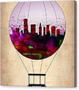 Miami Air Balloon 1 Canvas Print