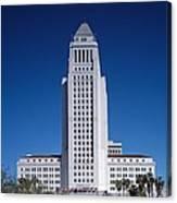 Los Angeles City Hall Canvas Print