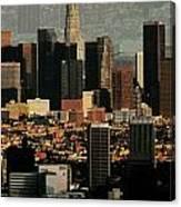 Los Angeles Classic Canvas Print
