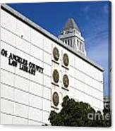 Los Angeles County Law Library Canvas Print