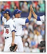 Los Angeles Dodgers V Arizona Canvas Print