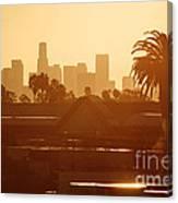 Los Angeles Morning Canvas Print
