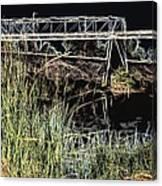 Los Angeles River / Crayola Effect Canvas Print