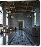 Los Angeles Union Station Original Ticket Lobby Canvas Print
