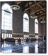 Los Angeles Union Station Original Ticket Lobby Vertical Canvas Print
