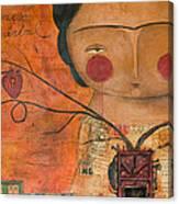 Los Corazones De Mi Arbol Canvas Print